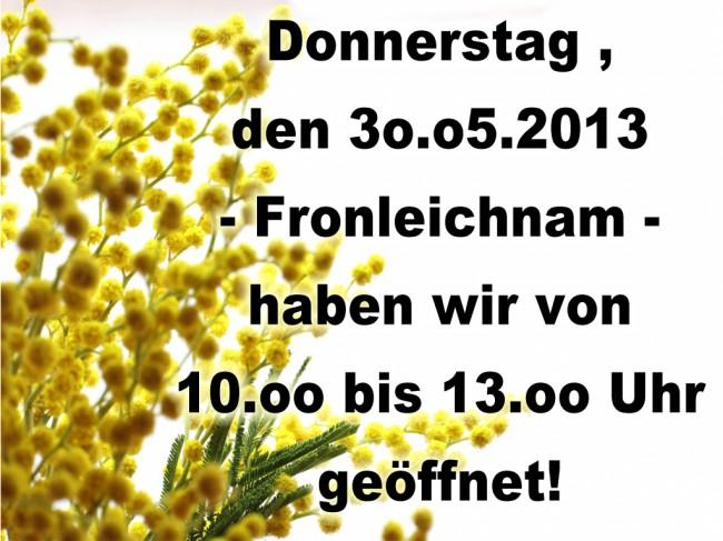 Fronleichnam-TV